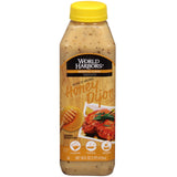 World Harbors French Style Honey Djon Sauce, 16 OZ (Pack of 6)