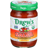 Drew's Salsa Organic Medium, 12 OZ (Pack of 6)