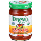 Drew's Hot Mango Habanero Organic Salsa, 12 Oz (Pack of 12)