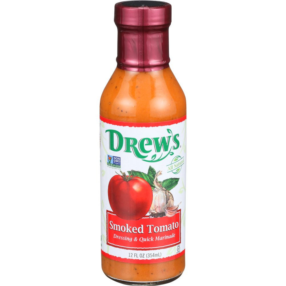 Drew's Dressing Smoked Tomato Low Carb, 12 OZ (Pack of 6)