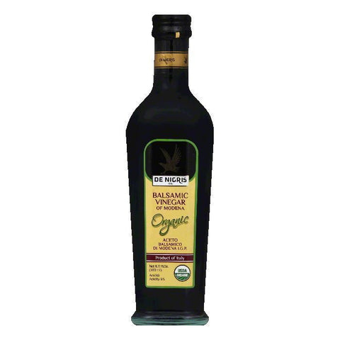De Nigris Organic Balsamic Vinegar of Modena, 16.9 fl oz(Pack of 6)