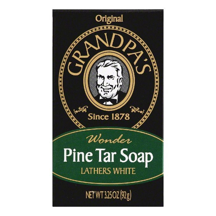 Grandpas Original Wonder Pine Tar Soap, 3.25 OZ