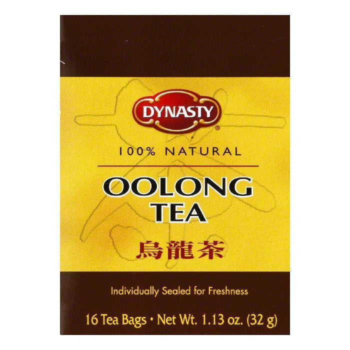 Dynasty Oolong Tea Bags, 16 count, 1.13 oz, (Pack of 6)