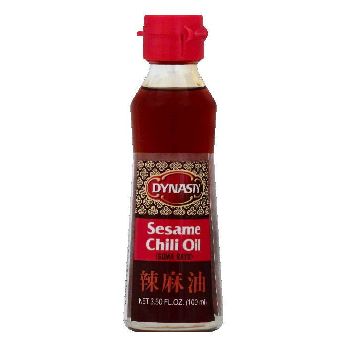 Dynasty Sesame Chili Oil, 3.5 OZ (Pack of 12)