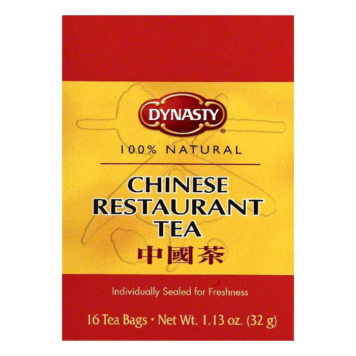 Dynasty Chinese Restaurant Tea, 16 ea (Pack of 6)