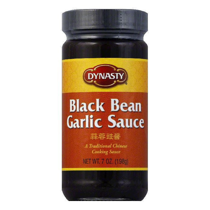 Dynasty Sauce Black Bean Garlic, 7 OZ (Pack of 6)