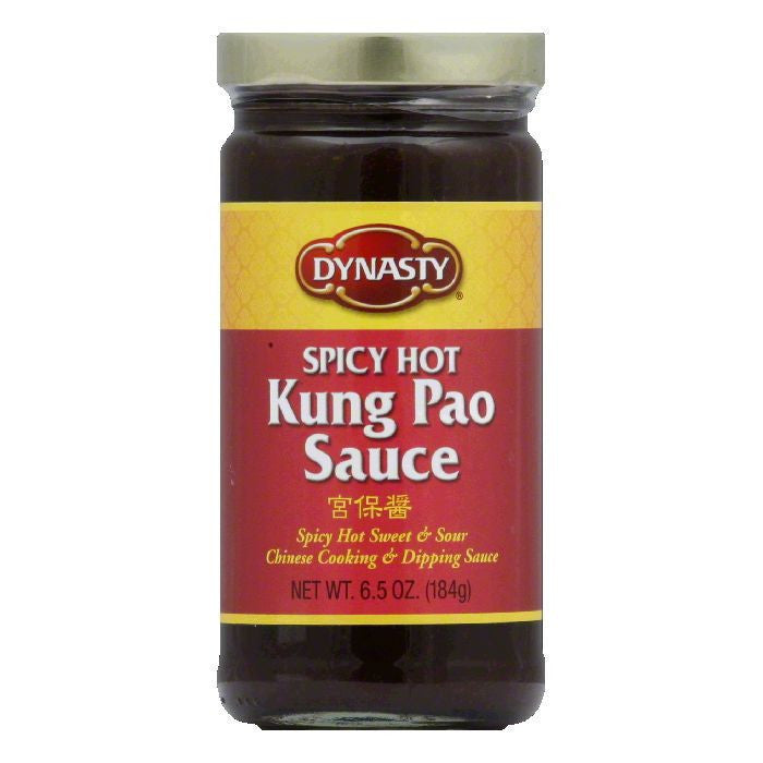 Dynasty Sauce Spicy Kung Pao, 6.5 OZ (Pack of 6)