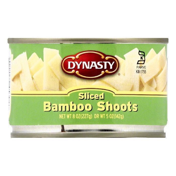 Dynasty Sliced Bamboo Shoots, 8 OZ (Pack of 12)