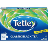 Tetley Classic Black Tea Bags 100 ct  (Pack of 12)