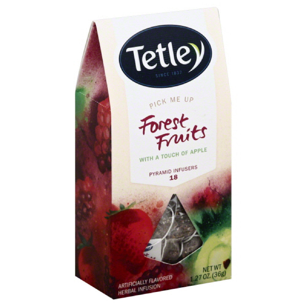 Tetley Pyramid Infusers Forest Fruits Tea, 18 Bg (Pack of 5)