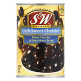 S&W Pitted Bulk Cherries, 16 OZ (Pack of 12)