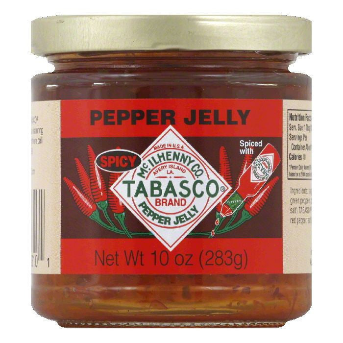 Tabasco Jelly Spicy Pepper, 10 OZ (Pack of 12)