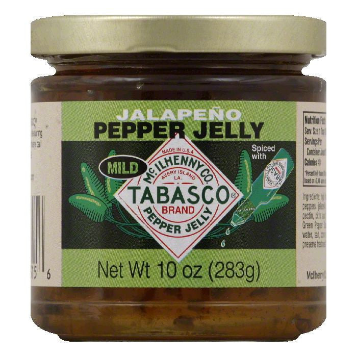 Tabasco Jelly Jalapeno Pepper, 10 OZ (Pack of 12)