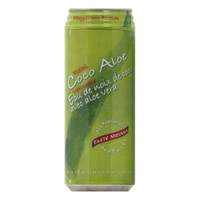 Taste Nirvana Real Coco Aloe, 16.2 FO (Pack of 12)