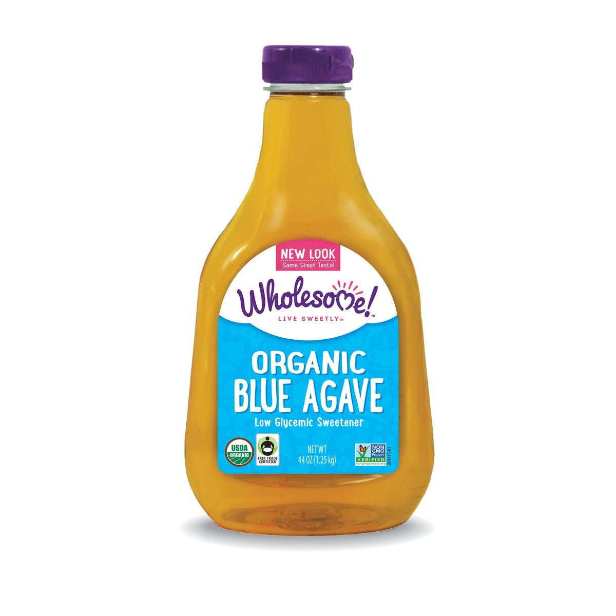 Wholesome Sweeteners Light Organic Blue Agave, 44 Oz (Pack of 6)