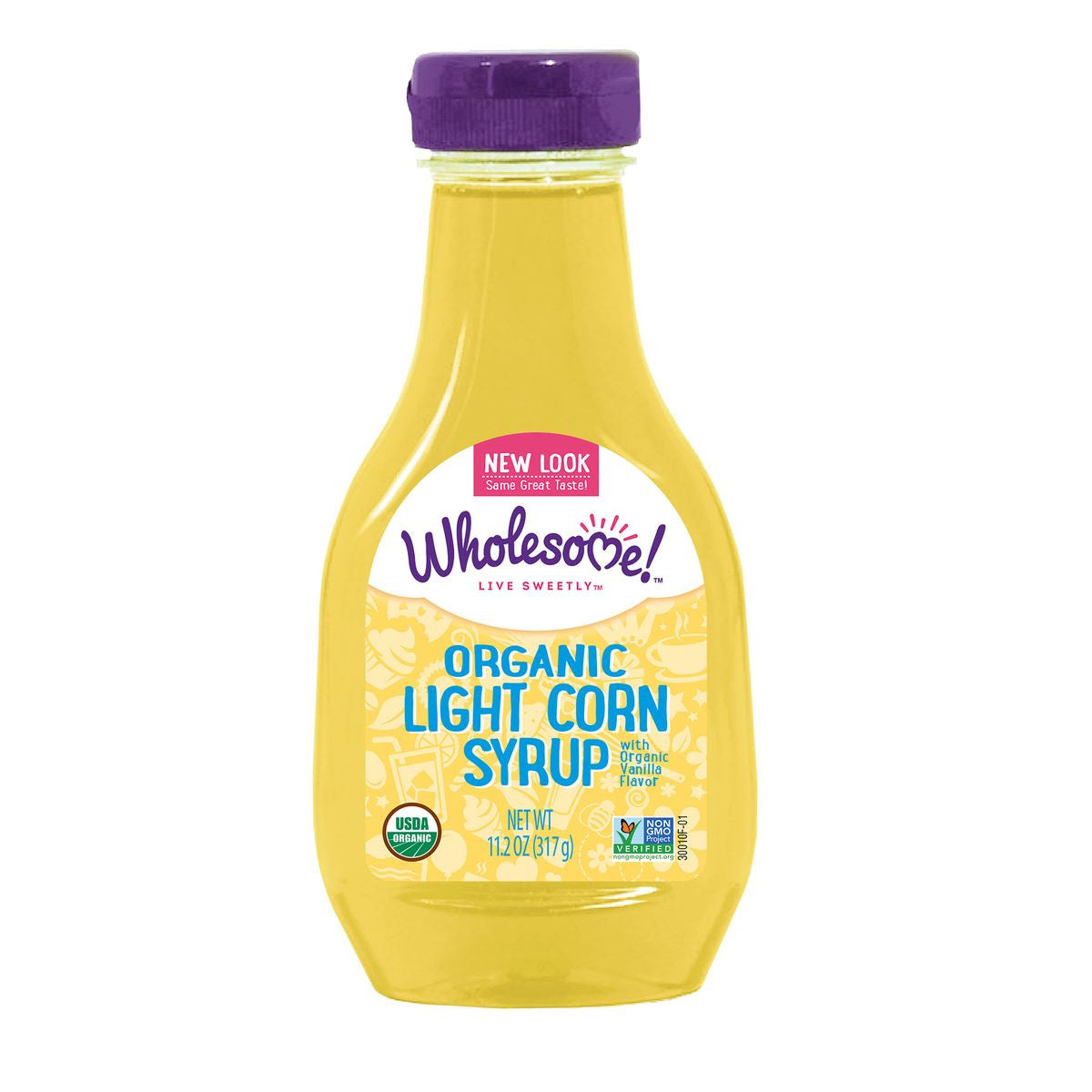 Wholesome Sweeteners Organic Light Corn Syrup, 11.2 Oz (Pack of 6)