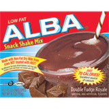 Alba Double Fudge Royale Snack Shake Mix, 6OZ (Pack of 12)