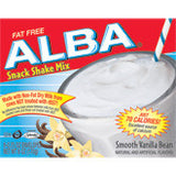 Alba Smooth Vanilla Bean Snack Shake Mix, 6OZ (Pack of 6 )