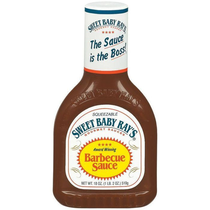 Sweet Baby Ray's Original Barbecue Sauce 18 Oz Squeeze  (Pack of 12)