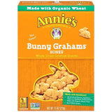 Annie's Homegrown Bunny Grahams Honey Whole Grain Graham Snacks 7.5 Oz  (Pack of 12)