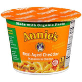 Annie's Homegrown Real Aged Cheddar Macaroni & Cheese 2.01 Oz Microcup (Pack of 12)