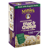 Annies Mac & Cheese with Real White Cheddar, 10.7 Oz (Pack of 6)
