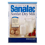 Sanalac Nonfat Dry Milk, 32 OZ (Pack of 6)