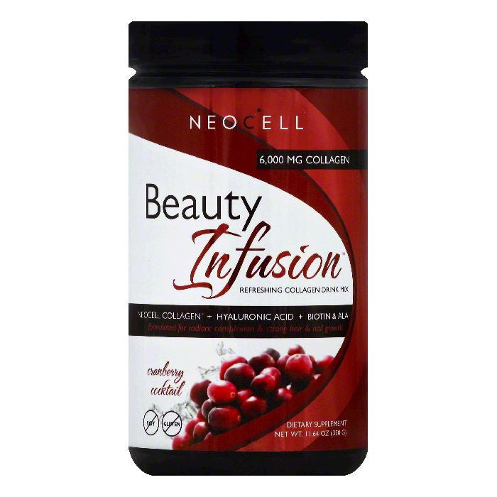Neocell Cranberry Cocktail Refreshing Collagen Drink Mix, 11.64 OZ