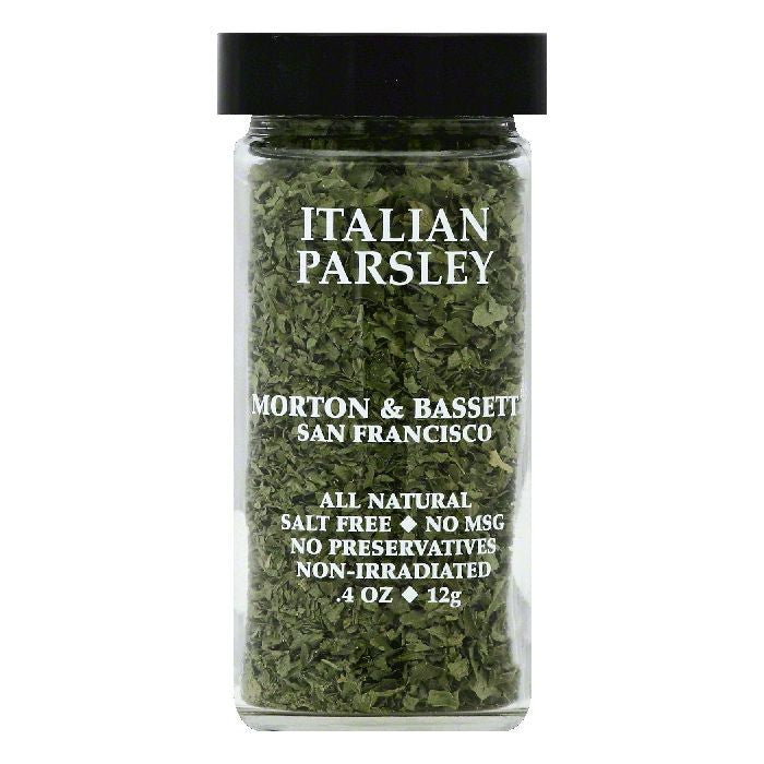 Morton & Bassett Italian Parsley, 0.4 OZ (Pack of 3)