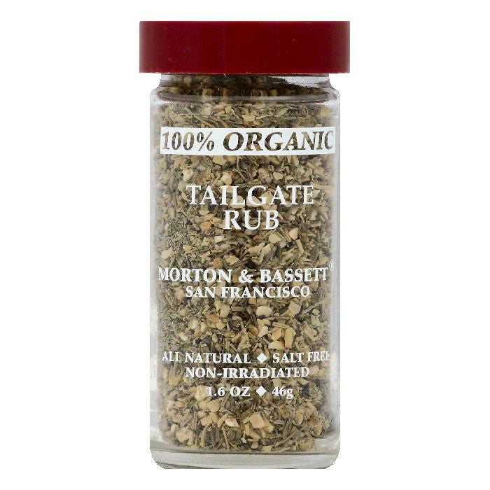Morton & Bassett Organic Tailgate Rub, 1.6 OZ (Pack of 3)