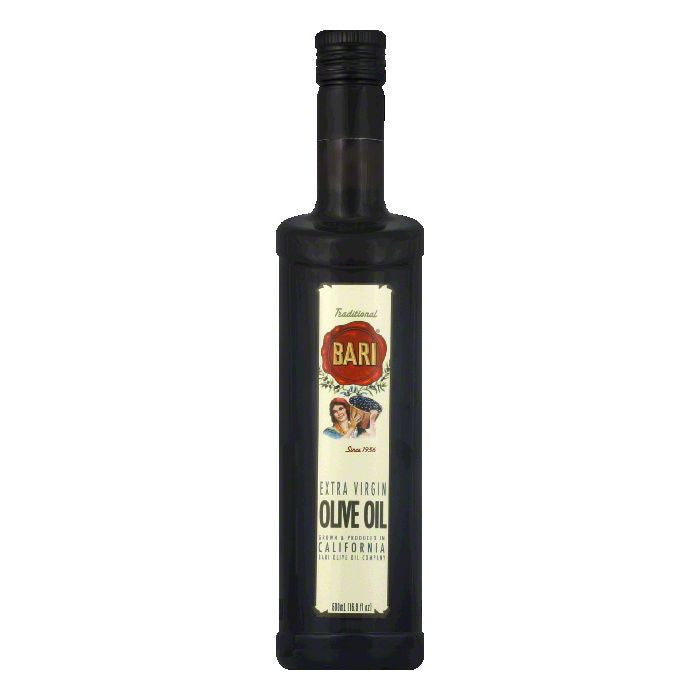 Bari California Extra Virgin Olive Oil, 500 ML (Pack of 6)
