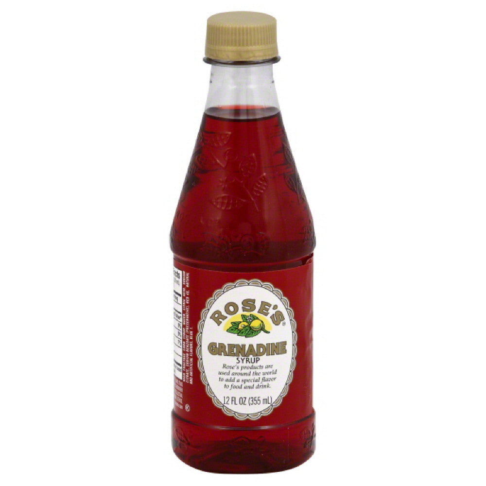 Roses Grenadine Syrup, 12 Oz (Pack of 6)