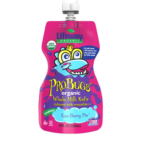 Lifeway ProBugs Goo Berry Pie - Single, 4 Oz (Pack of 12)