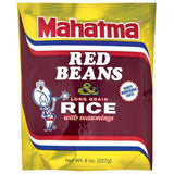 Mahatma Red Beans & Long Grain Rice with Seasonings 8 Oz (Pack of 12)