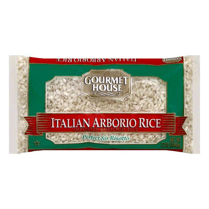 Gourmet House Italian Arborio Enriched Rice, 12 OZ (Pack of 12)