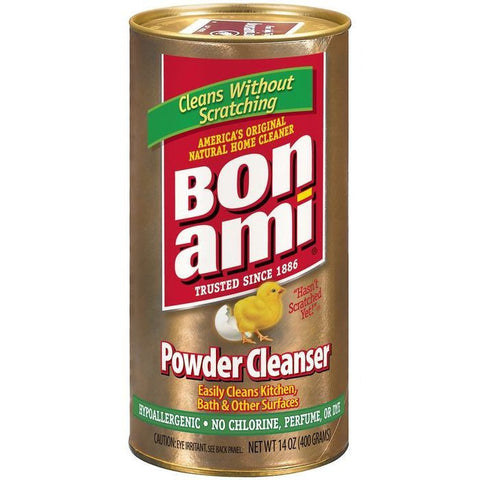 Bon Ami All Natural Powder Cleanser 14 Oz Shaker (Pack of 12)