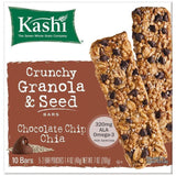 Kashi Chocolate Chip Chia Crunchy Granola & Seed Bars 10 ct  (Pack of 12)