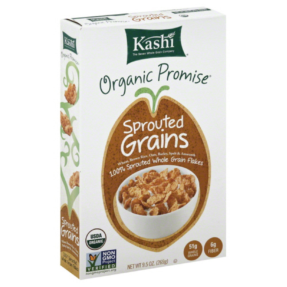 Kashi Sprouted Grains Cereal, 9.5 Oz (Pack of 12)