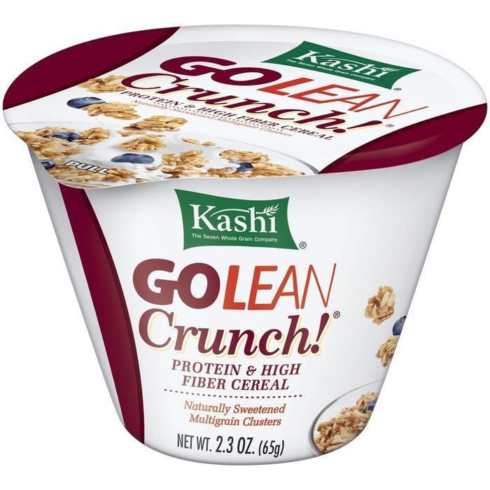 Kashi GOLEAN Crunch! Cereal 2.3 Oz Cup (Pack of 12)