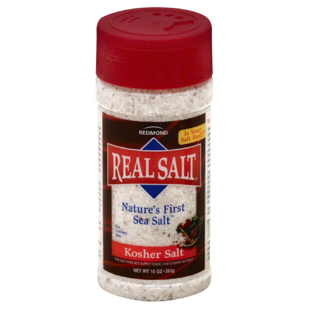 Redmond Kosher Salt, 10 Oz (Pack of 12)