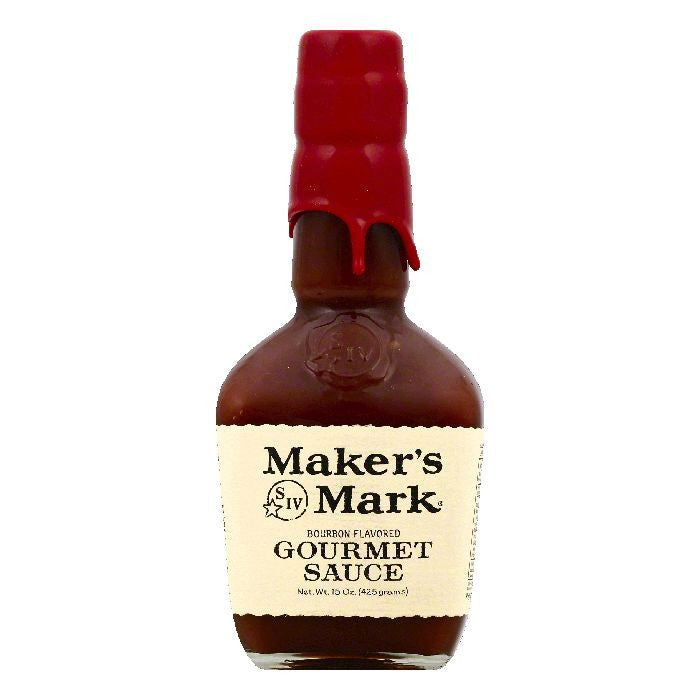 Makers Mark Bourbon Flavored Gourmet Sauce, 15 OZ (Pack of 6)