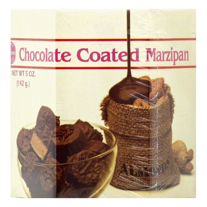 Oppenheimer Chocolate Coated Marzipan, 5 OZ (Pack of 12)