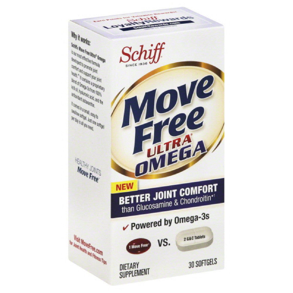 Move Free Softgels Ultra Omega, 30 Sg