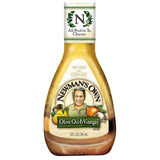 Newman's Own Olive Oil & Vinegar Dressing, 8 OZ (Pack of 12)
