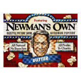 Newmans Own Butter Flavor Microwave Popcorn, 3 ea (Pack of 12)
