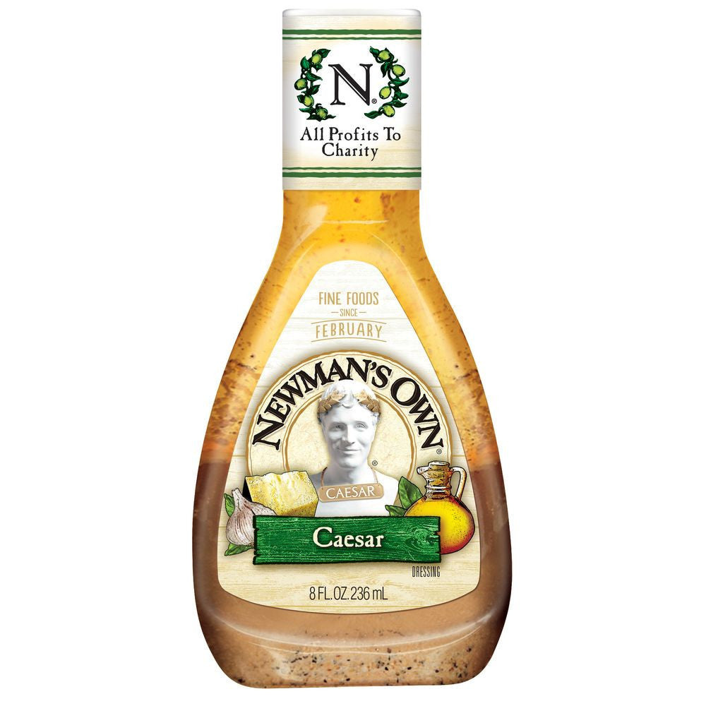Newman's Own Caesar Dressing, 8 OZ (Pack of 12)