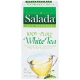 Salada 100% Pure White Tea  Tea Bags 20 Ct  (Pack of 6)