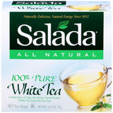 Salada 100% White Tea 40 ct Tea Bags (Pack of 6)
