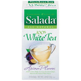 Salada 100% White Tea Asian Plum Tea Bags 20 Ct  (Pack of 6)