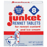 Junket For Rennet Custard & Ice Cream Rennet Tablets  8 Ct  (Pack of 12)